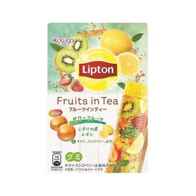 春日井製菓 リプトンフルーツインティーグミ サワーフルーツ 44g ×10袋