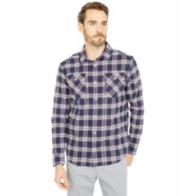 ルーカ メンズ シャツ トップス That'll Work Flannel Long Sleeve Moody Blue