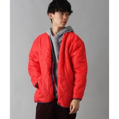 ジャケット ブルゾン 【BURNER SELECT】リバーシブルキルトボアジャケット