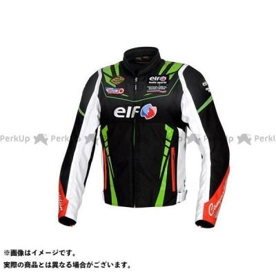 【無料雑誌付き】elf riding wear 2020-2021秋冬モデル EJ-W109 ヴィットリアスポルトジャケット(ブラック&グリーン) …