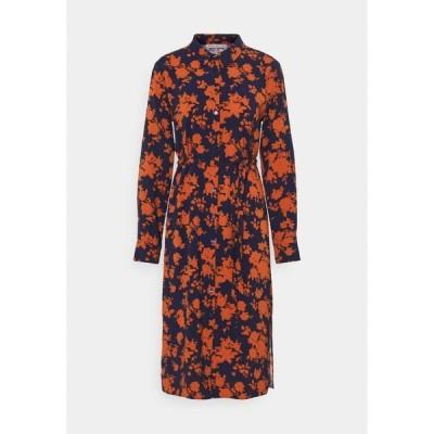 アンナフィールド ワンピース レディース トップス Day dress - dark blue/orange
