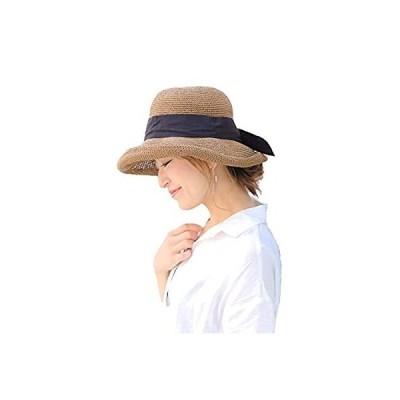 麦わら帽子 帽子 レディース むぎわら帽子 夏 夏帽子 ハット キャップ 日焼け uvカット 14+ イチヨンプラス イチヨン 14プラス ihat0