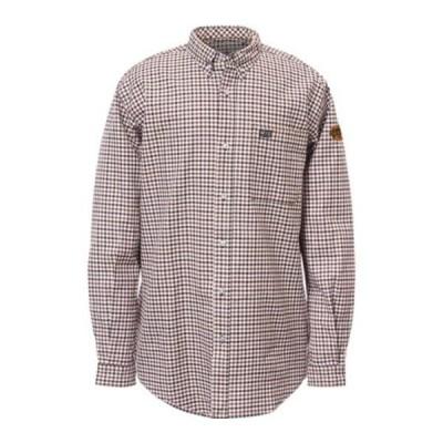 キャタピラー シャツ トップス メンズ Flame Resistant Plaid Work Shirt (Men's) Soma Plaid