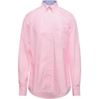 ポール シャーク PAUL & SHARK メンズ シャツ トップス Striped Shirt Pink