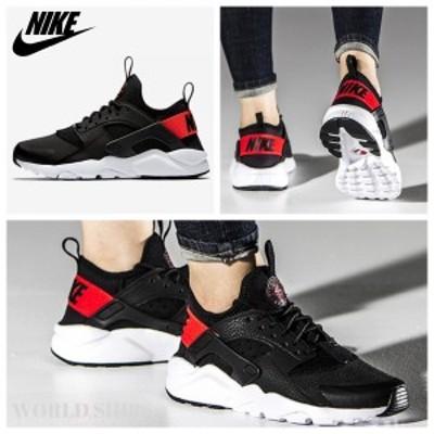 エアハラチ ナイキ スニーカー Nike Air Huarache Run Ultra Black/Orange【海外限定・正規品】