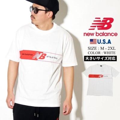 New Balance ニューバランス Tシャツ メンズ 半袖 MT01510 スポーツ