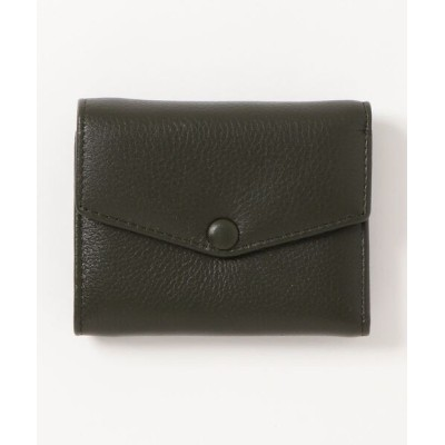 Fun & Daily / F&D : Cow Leather Compact Wallet WOMEN 財布/小物 > 財布