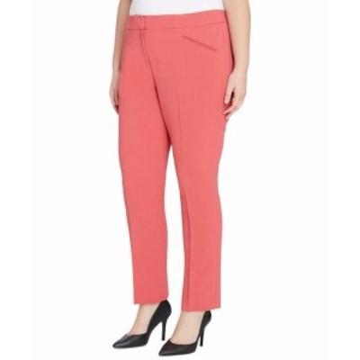 Reef リーフ ファッション パンツ Tahari By ASL NEW Pink Coral Reef Womens 24W Plus Dress Pants Stretch