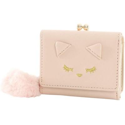 おすましプーちゃん 財布 レディース プーちゃん しっぽ ピンク