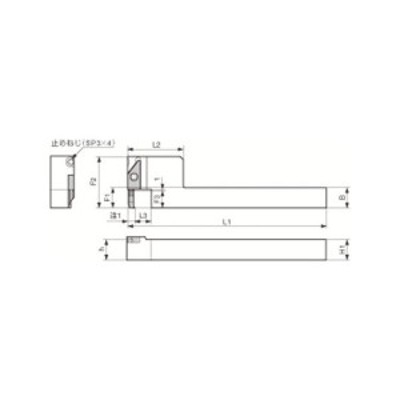 内径加工用ホルダ 京セラ SVNSR1212M1220XN-2039