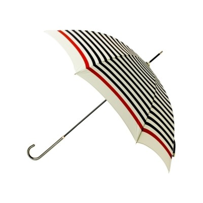 grove / 晴雨兼用フレンチボーダー長傘 WOMEN ファッション雑貨 > 長傘