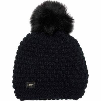 タートルファー Turtle Fur レディース ニット 帽子 Snowfall Black
