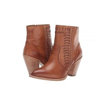 Lucchese ルケーシー レディース 女性用 シューズ 靴 ブーツ アンクルブーツ ショート Piper - Golden Tan