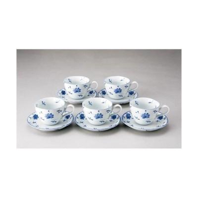 4535110000597 いちがま 花唐草コーヒー碗皿5客セット2306−3