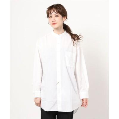 シャツ ブラウス orSlow / スタンドカラー ルーズシャツ<WOMEN>
