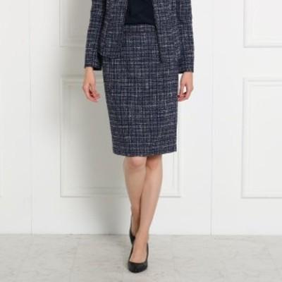 クード シャンス(COUP DE CHANCE)/【ママスーツ入学式 スーツ卒業式 スーツ】 ツイードタイトスカート
