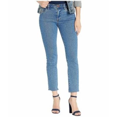ブランクニューヨーク レディース デニムパンツ ボトムス The Madison Crop High-Rise Straight Leg Jeans in Varsity Blue Varsity Blue