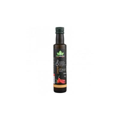 テルヴィス 有機 エクストラバージンオリーブオイル 唐辛子風味 250ml×12本