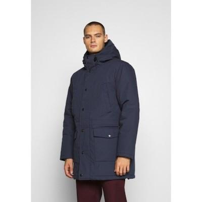 カーハート コート メンズ アウター TROPPER - Winter coat - blue