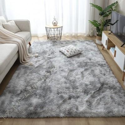 カーペット ラグ シャギーラグ 絨毯 滑り止め付き 長方形 洗える 北欧 防音対策 オールシーズン 寝室 ふわふわ リビング テーブルマット 洗える 滑り止め 絨毯
