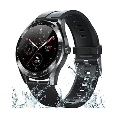 Smart Watch Fitness Tracker for Android iOS Phones,Body Temperature Smartwatch with Heart Rate Sleep Blood Pressure Blood Oxygen Monitor,Sma