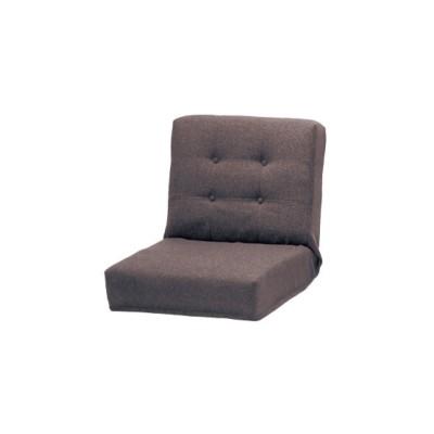 低反発のリクライニングシンプル座椅子<1人掛け/2人掛け>