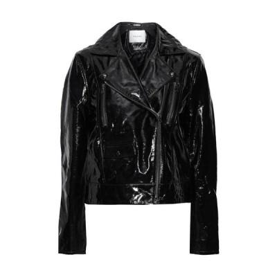 FRAME バイカージャケット  レディースファッション  ジャケット  ブルゾン、ジャンバー ブラック