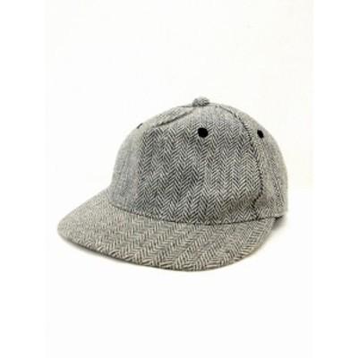 【中古】アングリッド UNGRID 帽子 キャップ アジャスター つば 総柄 刺繍 F グレー 灰 /UT44 レディース