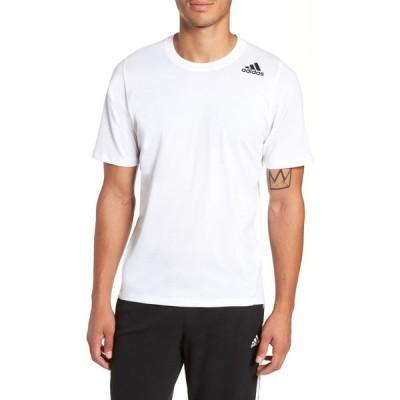アディダス ADIDAS メンズ Tシャツ トップス Technical Crewneck T-Shirt White