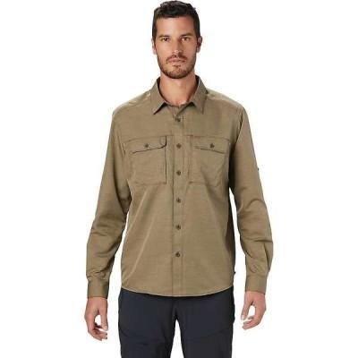 マウンテンハードウェア メンズ シャツ トップス Mountain Hardwear Men's Canyon LS Shirt