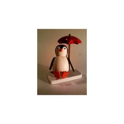 ペンギン ビーチパラソルのくつろぐ