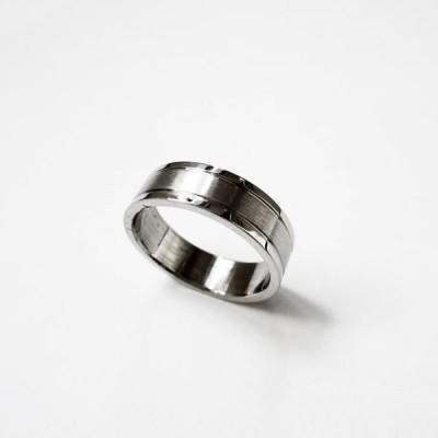 サージカル ステンレスリング 指輪 つや消しシンプル RS05W