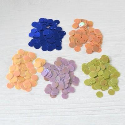 ハンドメイド材料 スパングル・スパンコール 10mm (約2.5g) デコ 手芸 ビーズ手芸 pt-120303-7