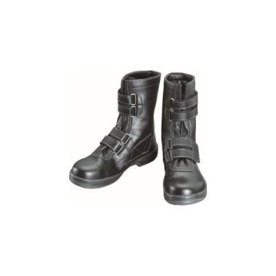 シモン SS38 安全靴 長編上靴マジック式 黒 23.5cm SS38-23.5