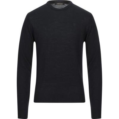 ロベルト カヴァリ ROBERTO CAVALLI メンズ ニット・セーター トップス sweater Black