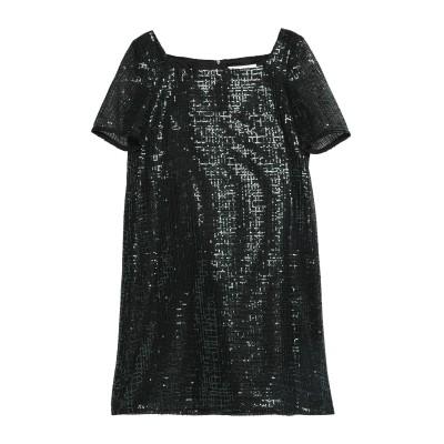 ゴート GOAT ミニワンピース&ドレス ダークグリーン 8 ポリエステル 100% ミニワンピース&ドレス