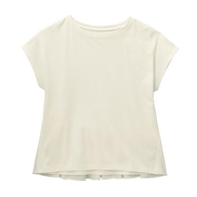 バックフリルTシャツ(レディース)(ジータ/GITA basic)