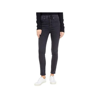 Madewell 10'' High-Rise Skinny Jeans in Robert Wash: Button-Font Edition レディース ジーンズ Robert Wash