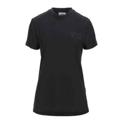 ワイスリー Y-3 T シャツ ブラック XXS コットン 100% / ポリウレタン T シャツ
