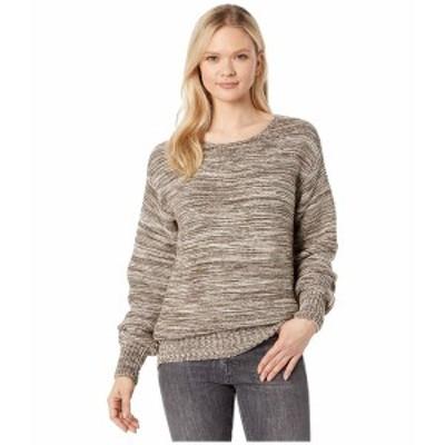 フィルソン レディース ニット&セーター アウター Lake Quinault Crew Neck Sweater Cream/Olive Melange