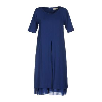 アルファスタジオ ALPHA STUDIO ミニワンピース&ドレス ブルー 42 95% コットン 5% ポリウレタン ミニワンピース&ドレス