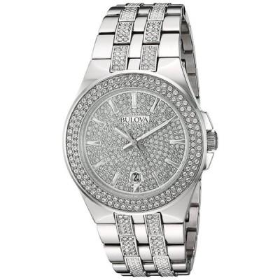 ブローバ Bulova 男性用 腕時計 メンズ ウォッチ シルバー 96B235