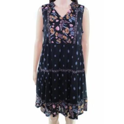 ファッション ドレス Style & Co. Womens Dress Black Size Medium PM Petite Floral Sheath