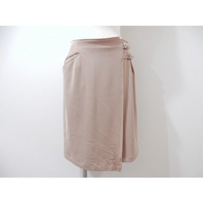 #anc モガ MOGA スカート 3 ベージュ 巻きスカート レディース [608312]