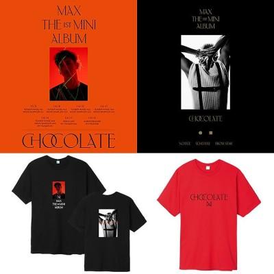 TVXQ! 東方神起 チャンミン 週辺 chocolate半袖Tシャツ 韓国ファッション 男女兼用 トップス メンズ レディース 応援服