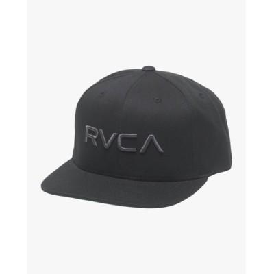 SUBURB / RVCA キッズ  RVCA TWILL SNAPBACK キャップ【2021年春夏モデル】/ルーカ 帽子 キャップ KIDS 帽子 > キャップ