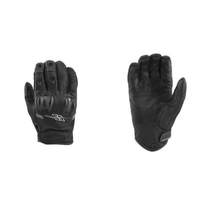 【872233】 Power and the Glory Leather-Mesh Gloves ブラック ホワイト Hi-Vis レッド ブルー グリーン オレンジ S/M/L/XL ◆ハーレー◆