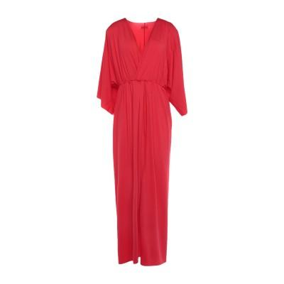 4GIVENESS ロングワンピース&ドレス レッド S ナイロン 90% / ポリウレタン 10% ロングワンピース&ドレス