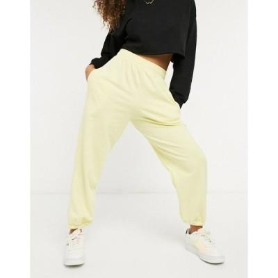 アイソウイットファースト レディース カジュアルパンツ ボトムス I Saw It First sweatpants in yellow Yellow