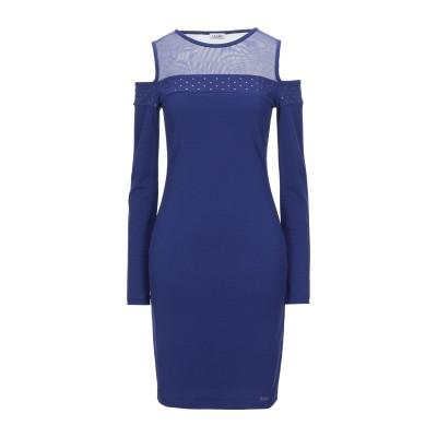 リュー ジョー LIU •JO ミニワンピース&ドレス ダークブルー S ポリエステル 95% / ポリウレタン 5% ミニワンピース&ドレス